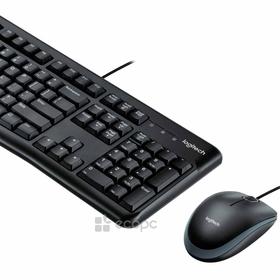 Keyboard Logitech Desktop MK120 QWERTY