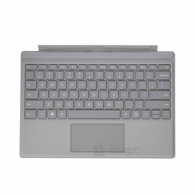 Teclado Microsoft Surface Pro Type Cover (M1725) / Gris / QWERTY