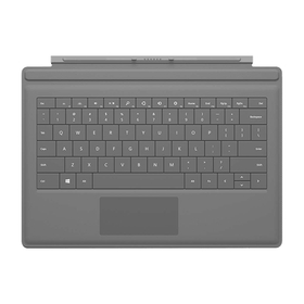 Teclado Microsoft Surface Pro Type 3 Cover (1644) / Gris / QWERTY
