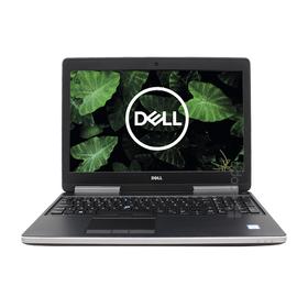 """Dell Precision 7510 / Intel Core I7-6920HQ / 32 GB / 512 NVME / 15"""" / AMD FirePro W5170M - vue de face"""