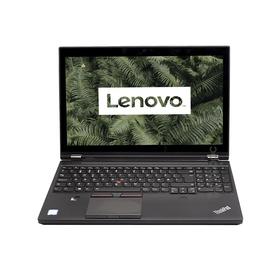 """Lenovo ThinkPad P50 / Intel Core I7-6700HQ / 16GB / 256 SSD / 15"""" / QUADRO M1000M- front view"""